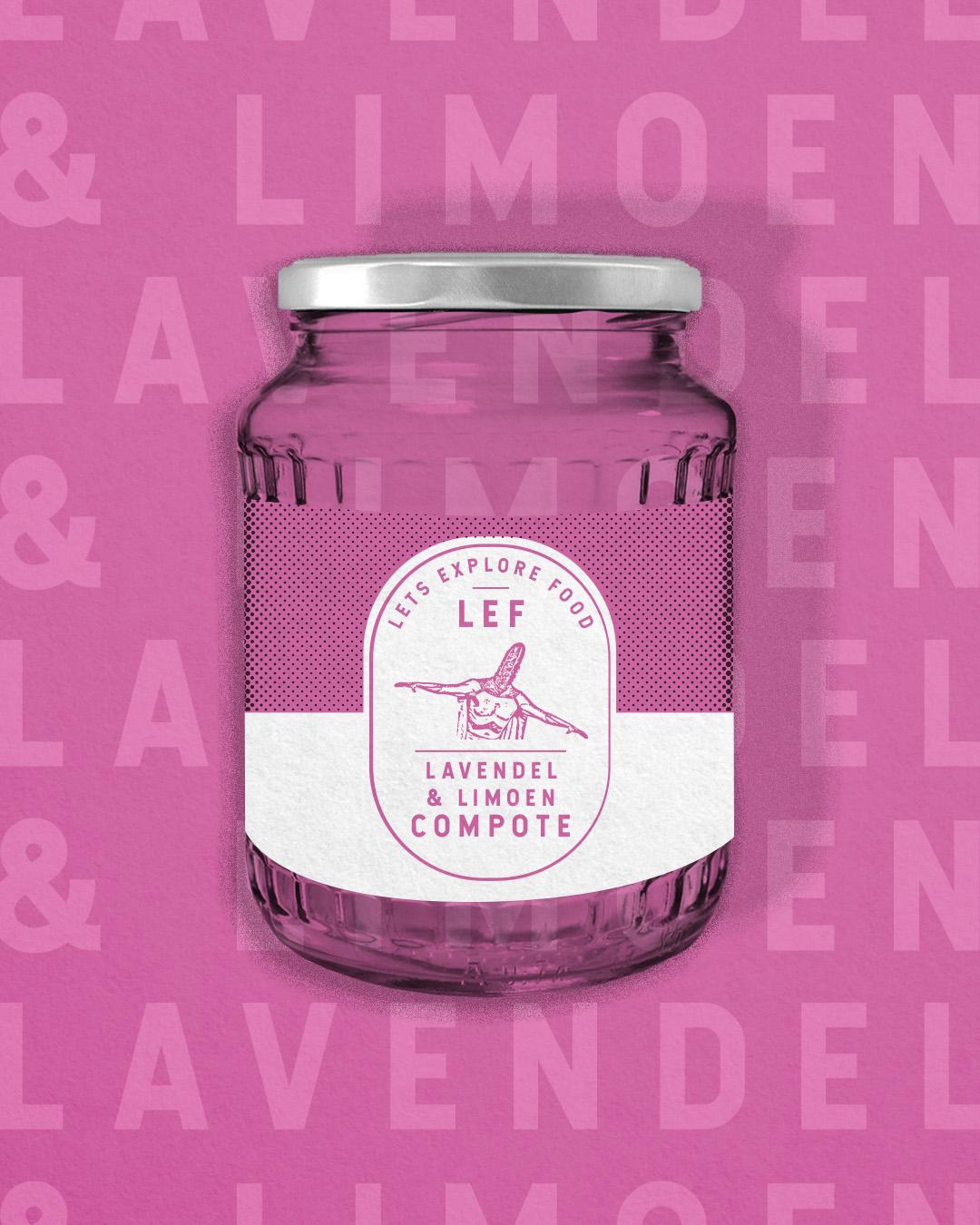 Lavendel & Limoen compote