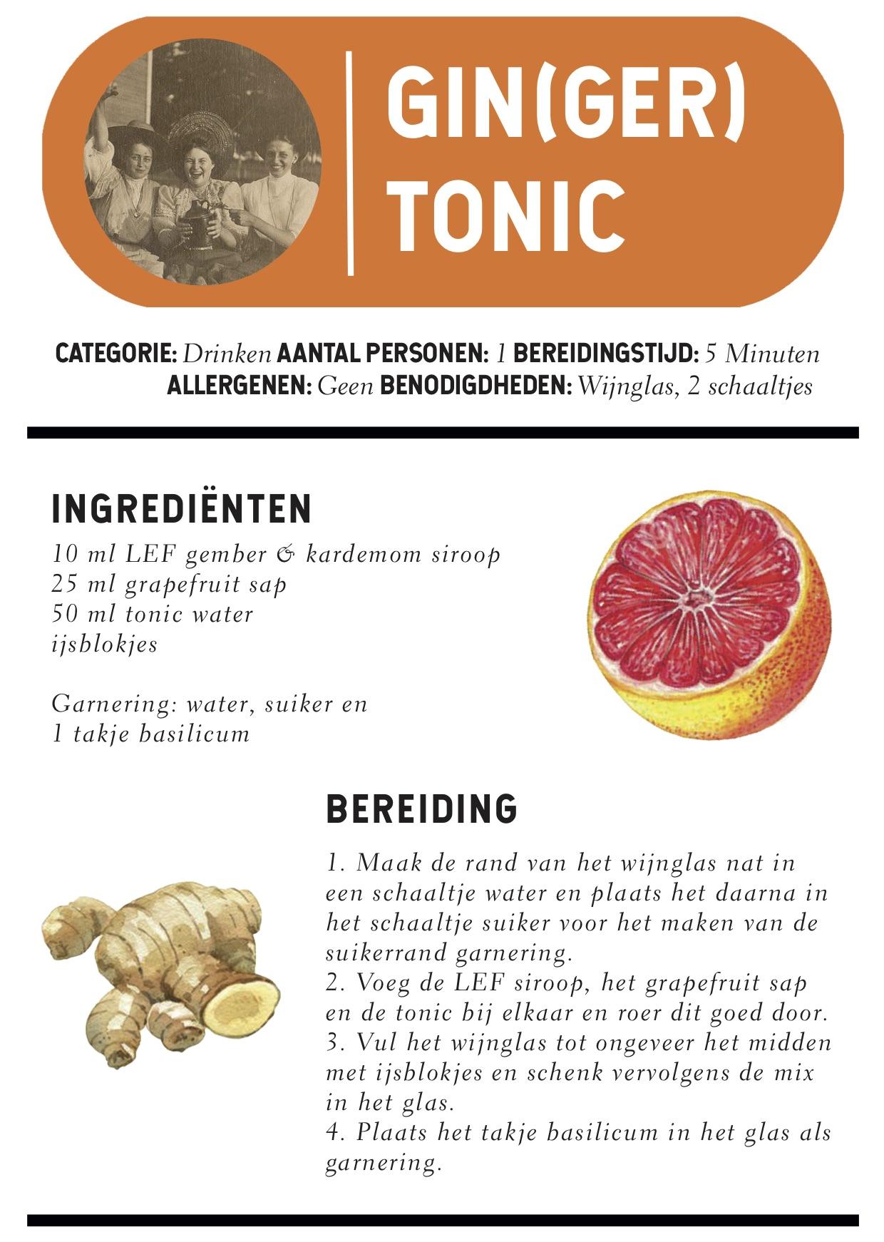 ginger tonis